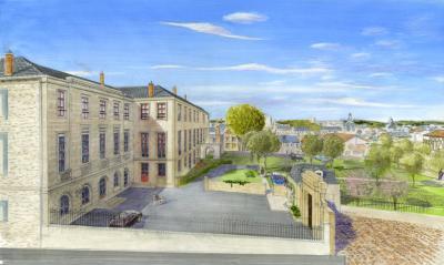 2, Place du Présidial - Rue Adrien Dubouché - Résidence de l'Ecole du Présidial